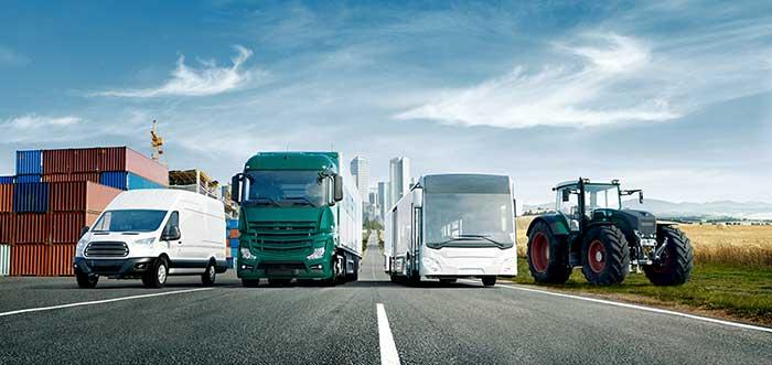 Taller de vehículo industrial