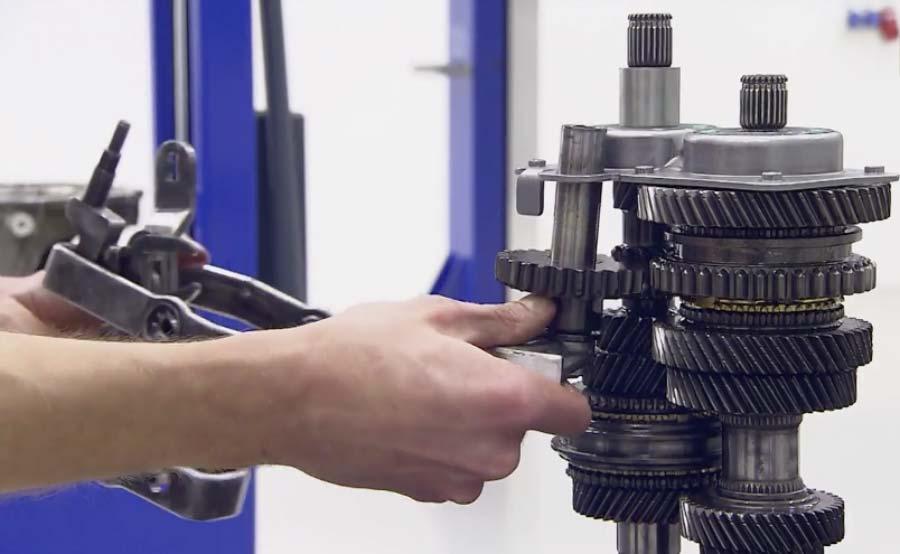 Reparar caixa de velocidades